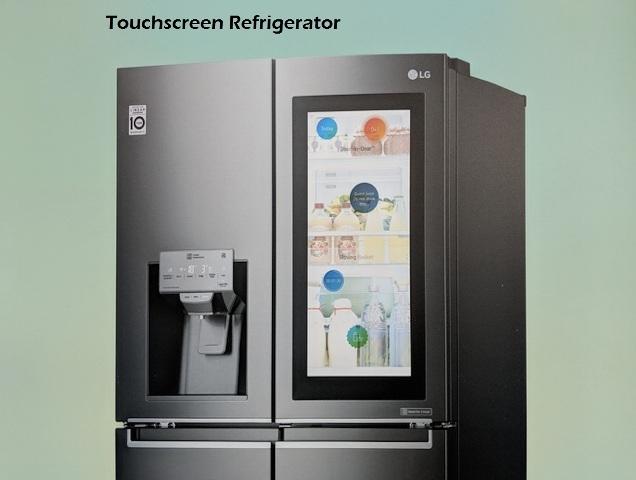 Touchscreen Refrigerator